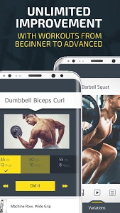Gym Workout Tracker & Trainer for weight lifting 3.520 APK