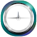 Download Luxury White Clock APK